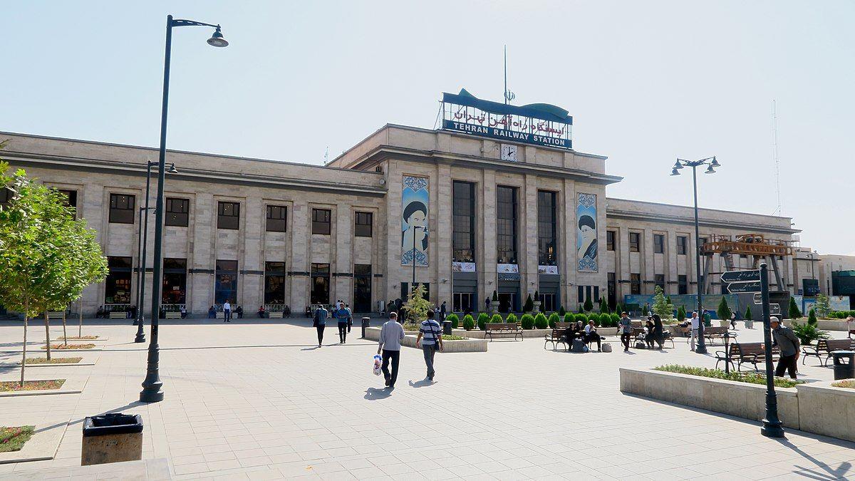 Tehran Train Station, capital of iran, traveling to iran