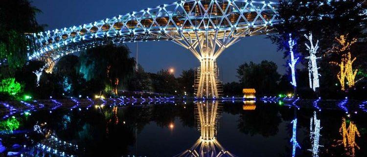 Tabiat Bridge   Symbol of Iran Contemporary Architecture
