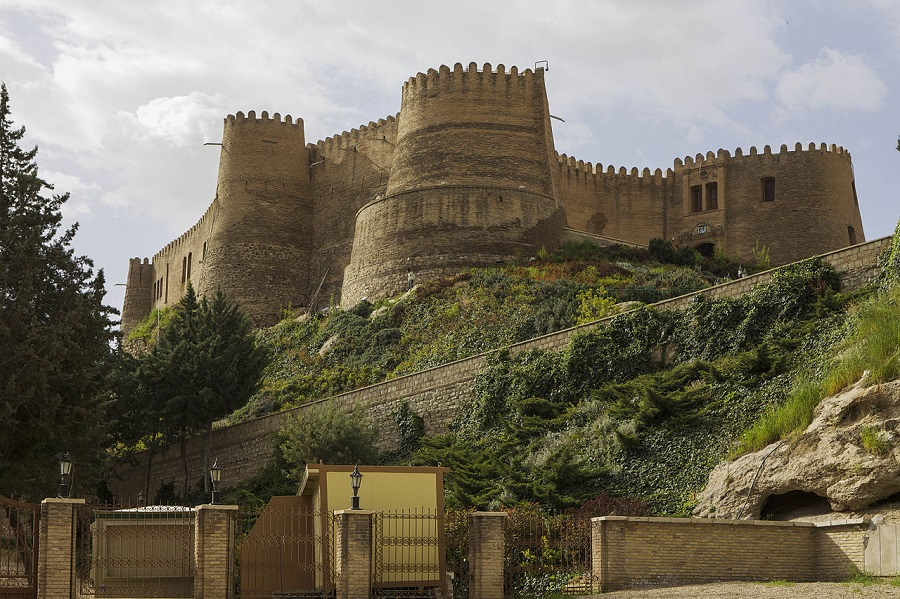 Karim Khan citadel | Imposing citadel of Karim Khan