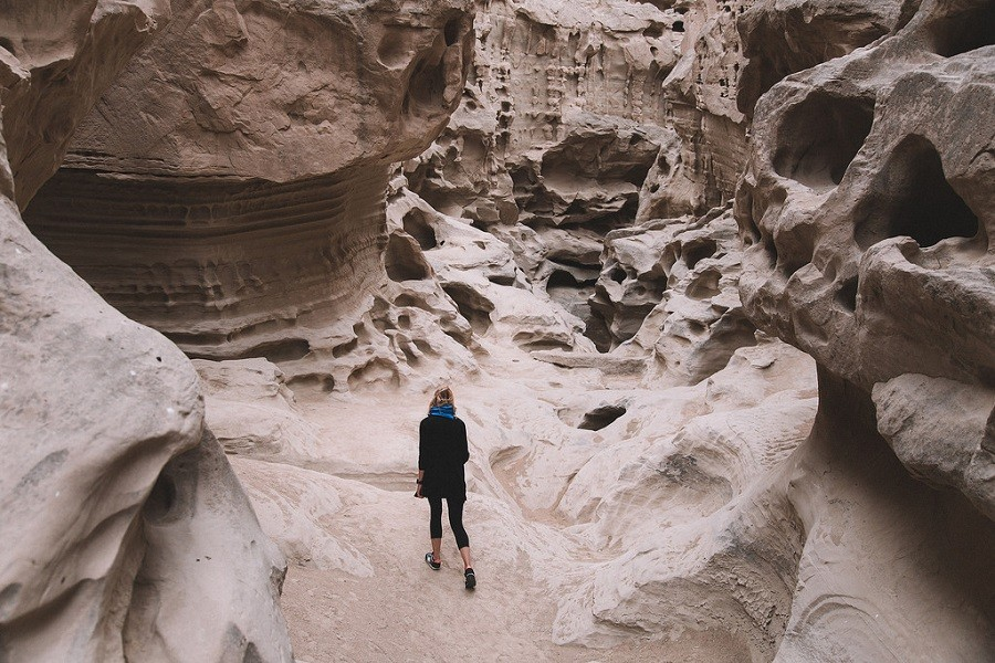 Chahkoh Canyon | A canyon with surreal shapes