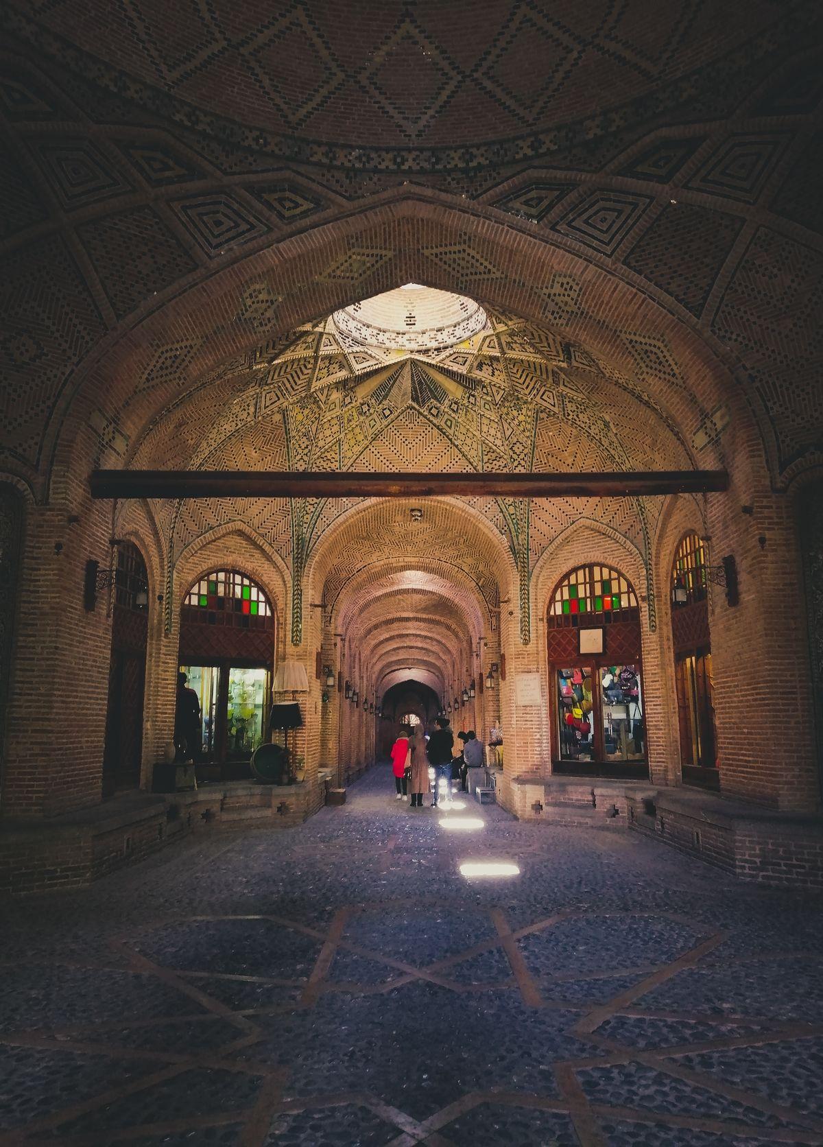 Grand Bazaar of Qazvin | Photo by: Nasim Keshmiri