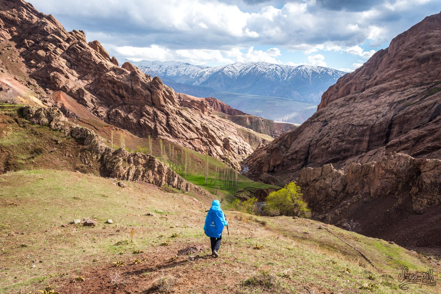 Hiking in Alamut, the valley of the assassins by shoesyourpath.com