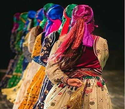 Traditional and local Iranian clothing
