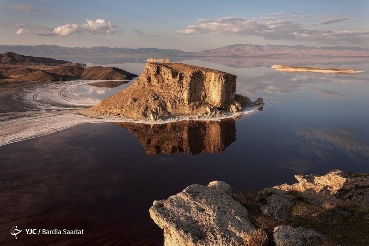 Lake Urmia Tabriz Iran