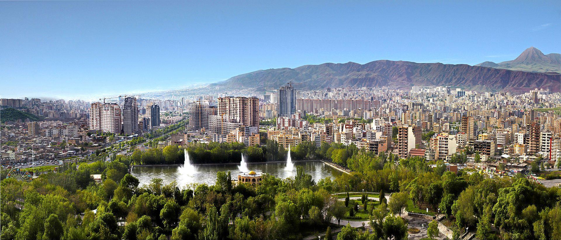 Panoramic view of Tabriz Iran