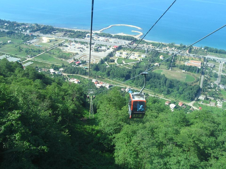 The Gondola Lift of Ramsar