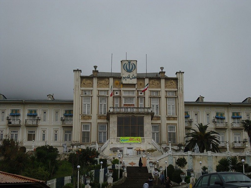 The Old Hotel of Ramsar