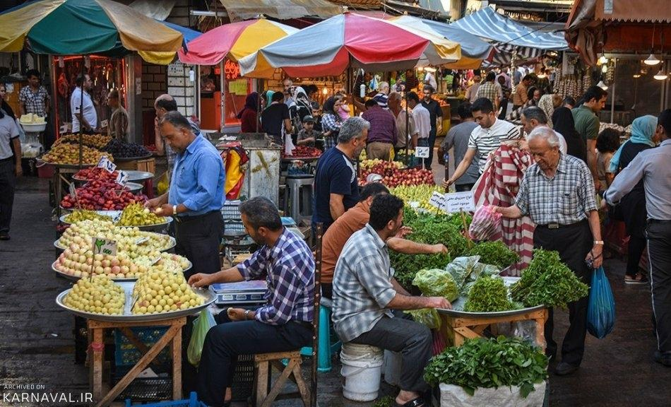 Rasht Bazaar | Festival of Colors and Delicious Foods