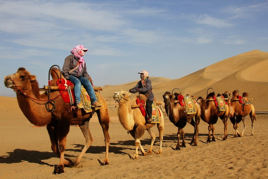 Silk Road (Silk Rout)   An ancient network of routes connecting east to the west