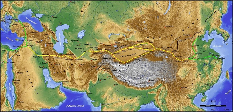 Silk Road (Silk Rout) | An ancient network of routes connecting east to the west