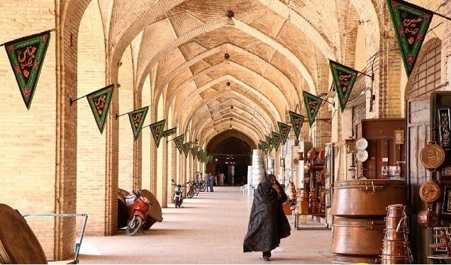 The Historical-Cultural structure of Kerman | A grand bazaar with 600 years of history