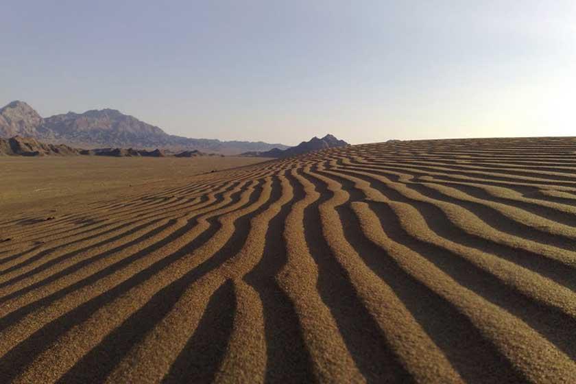 Moghestan Desert
