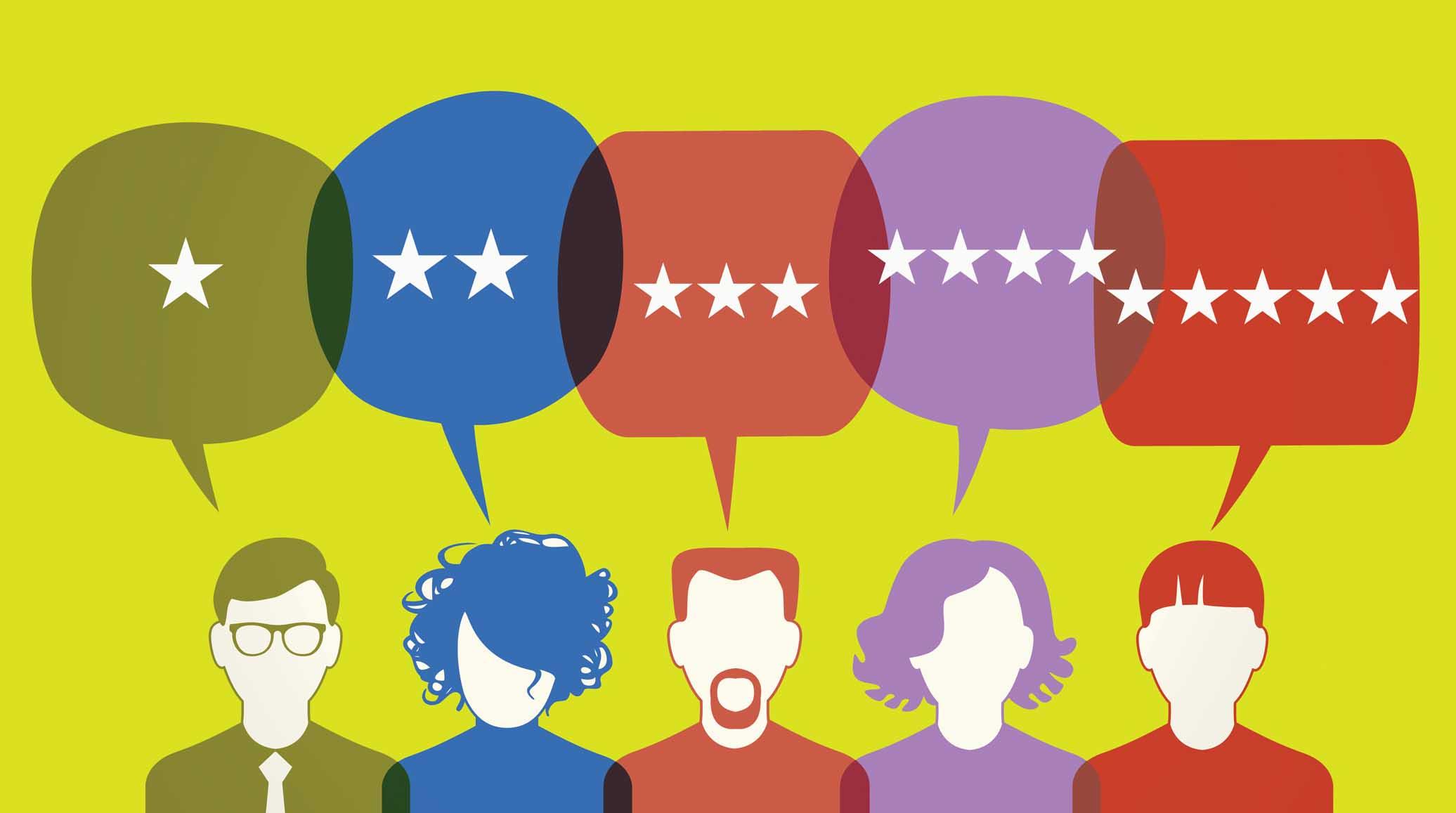 online customers reviews