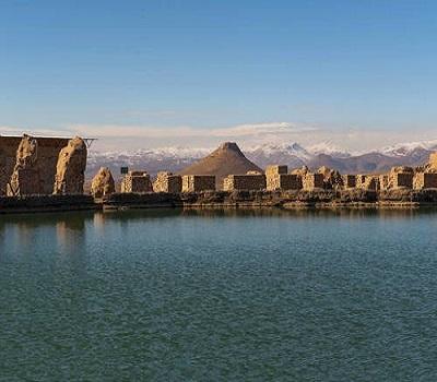 Takht-e Soleyman   Birthplace of Zoroaster