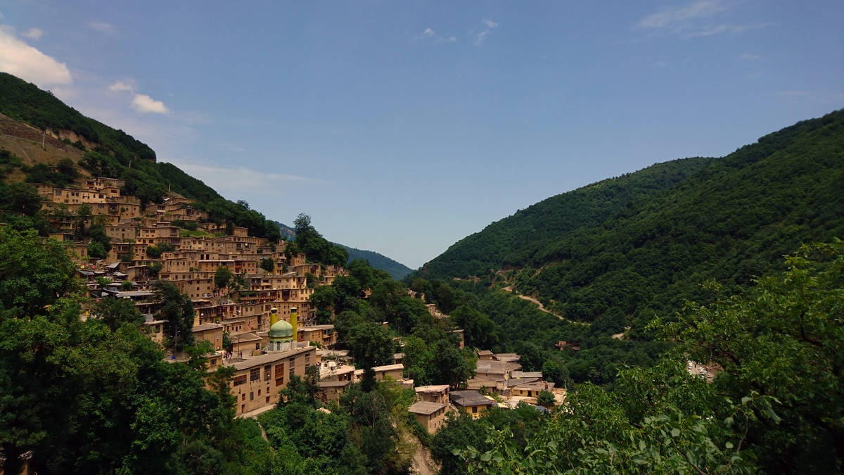 The resort of Masouleh Gilan province Iran